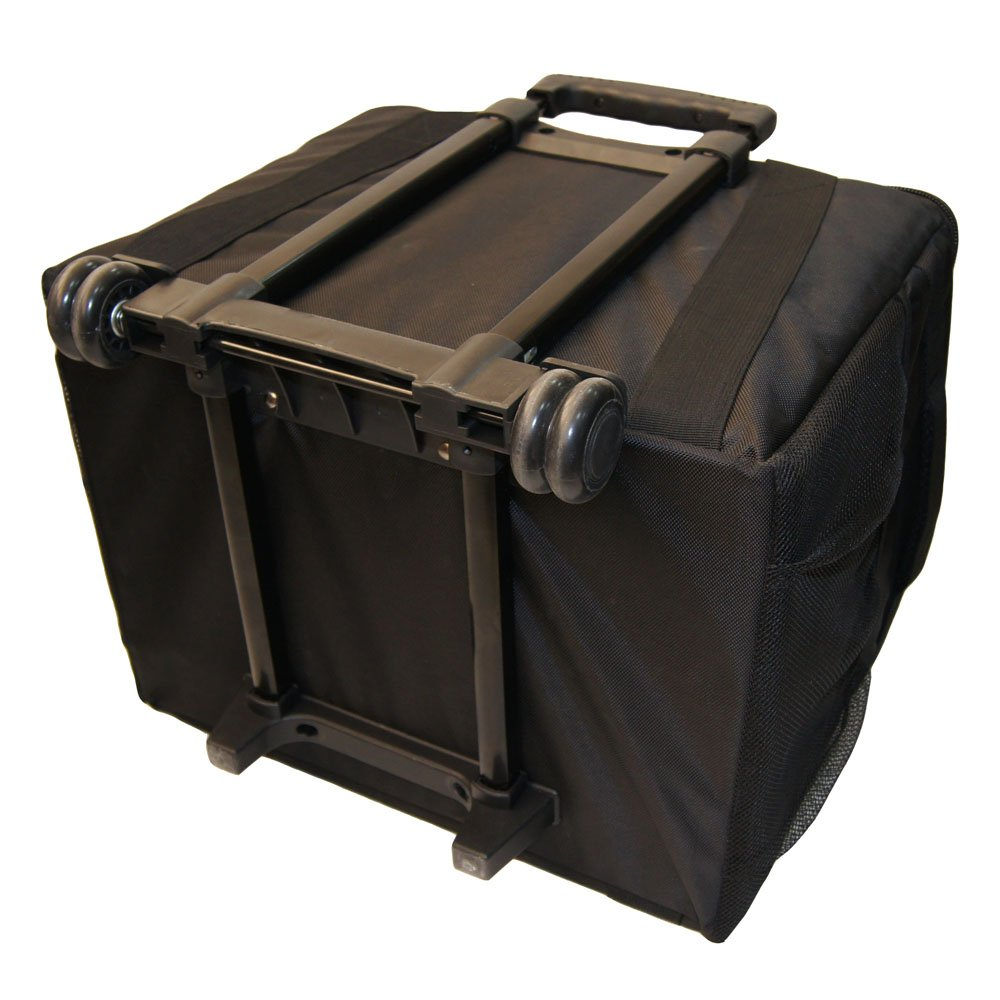 Mitsubishi CP-K60DW-S Photo Printer - BUNDLE - with CK-K76R(HG) Media Pack and our ROLLING CARRYING CASE.
