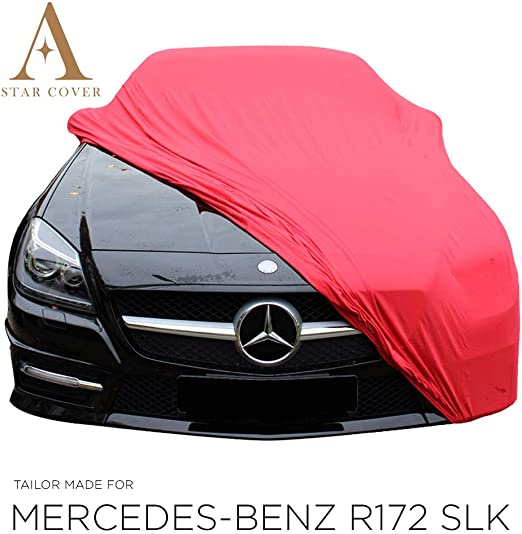 Autoabdeckung Rot Mercedes Benz Slk Class R172 SchutzhÜlle Abdeckplane Auto