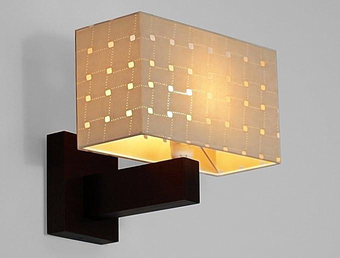 Wero lampada da parete design bilbao beige amazon