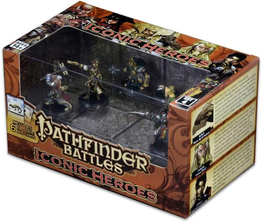Pathfinder Battles: Iconic Heroes Set 4 by WizKids: Amazon.es: Juguetes y juegos