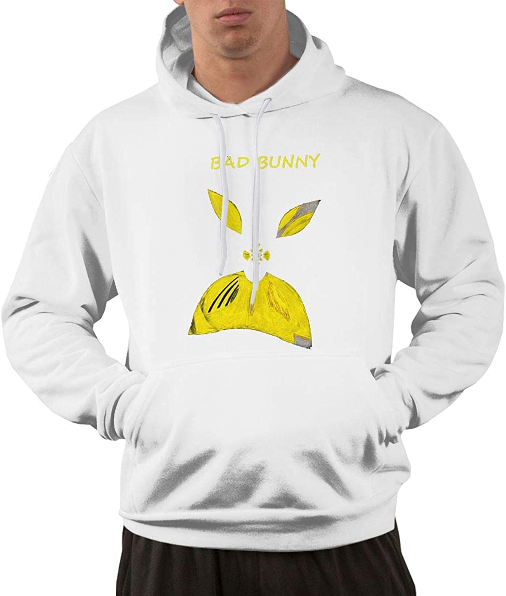 WNN Hslpin Bad Bunny Vete Fashion Mens Hoodie Black