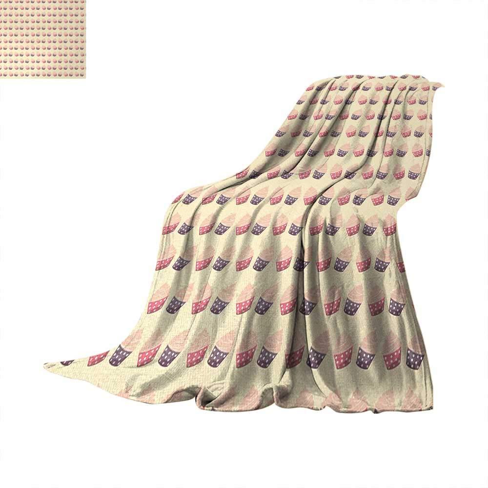 Anhuthree レトロデジタルプリントブランケット カラフルな落書きのような手描き 大きな円形 ヒップスタースタイル ソフトカラー モダンアートプリント アートワークイメージ マルチカラー 60