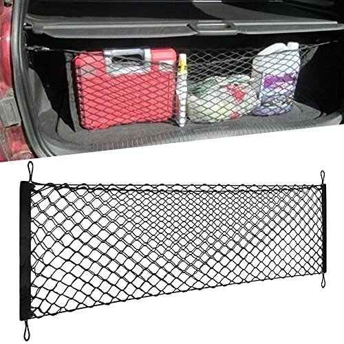 "[34""x14""] - Trunk Cargo Net - Envelope Truck Tailgate net, Car Storage Container for Vehicle SUV for Gift ()"