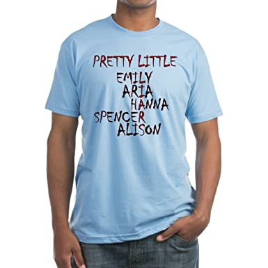 0f8d5c3386f55 Amazon.com: CafePress - Pretty Little Liars T-Shirt - Fitted T-Shirt,  Vintage Fit Soft Cotton Tee: Clothing
