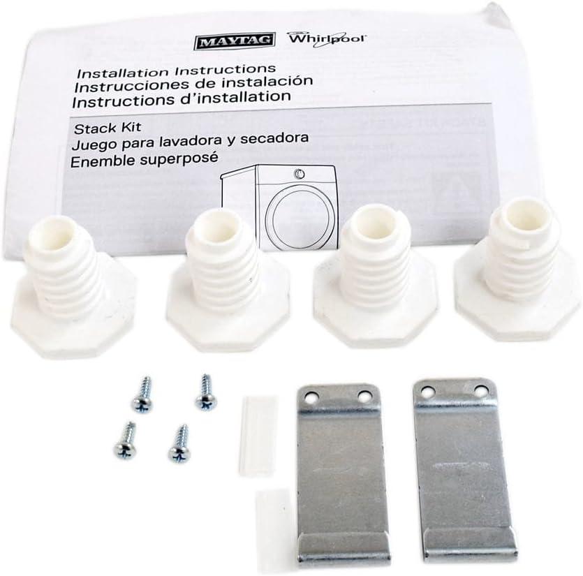 Whirlpool W10869845 Kit de apilamiento para secador de ventilación ...