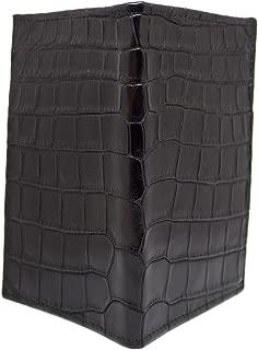 """product image for Black Alligator""""Pocket Secretary"""" Wallet"""
