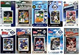 C&I Collectables MLB Tampa Bay Rays Men's 10 Different Licensed Trading Card Team Sets, White