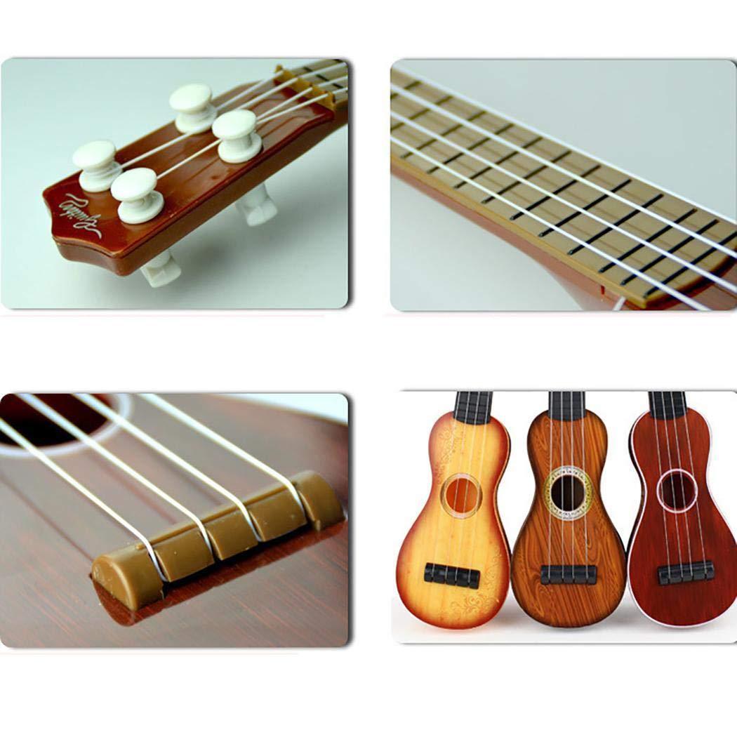 Idomeo 15 Inch Ukulele Beginner 4 String Nylon Strings Guitar Musical Instrument Pianos /& Keyboards