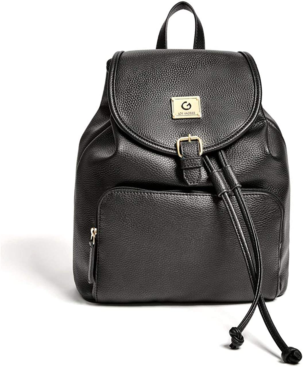 G by GUESS Womens Cherry Faux-Leather Backpack