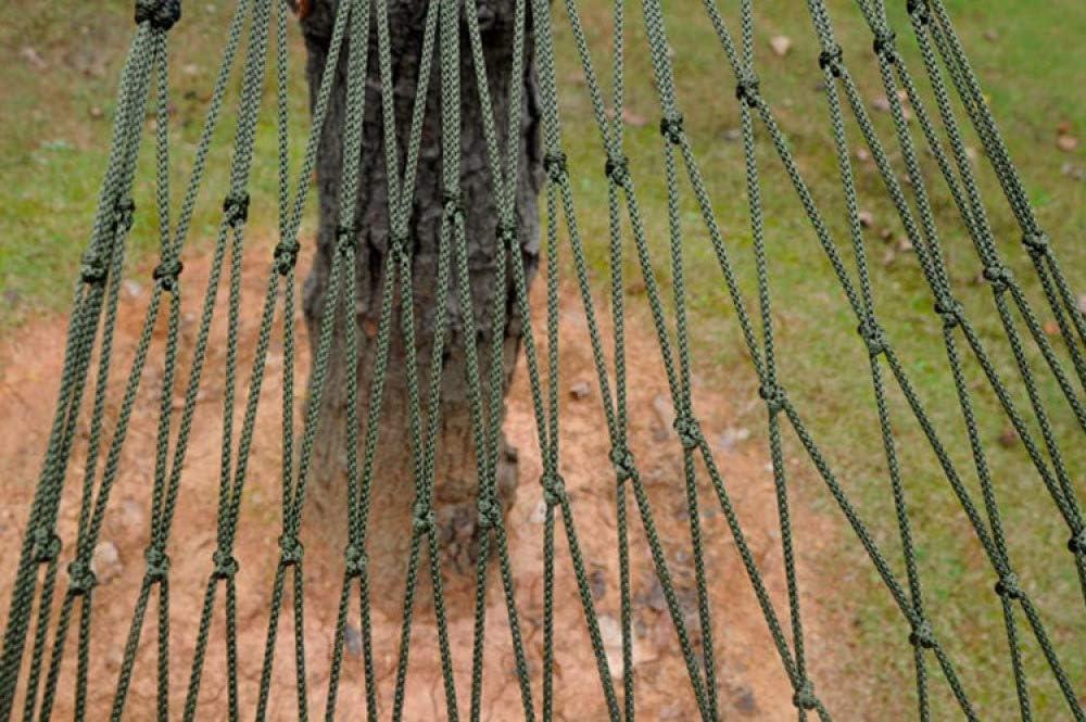 Hamaca De Nylon De Malla 200 X 80 Cm Resistencia De 150kg Colgante En Un Camping,en El Jard/ín O En Una Aventura De Supervivencia