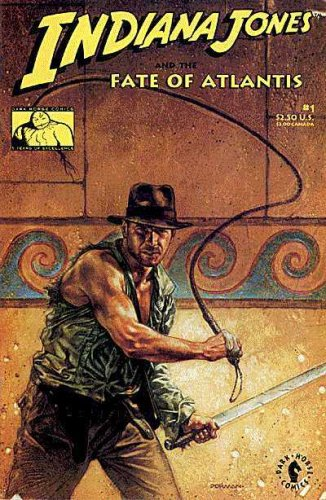 INDIANA JONES AND THE FATE OF ATLANTIS #1-4 complete story (INDIANA JONES AND THE FATE OF ATLANTIS (1991 DARK HORSE)) (Indiana Jones And The Fate Of Atlantis)