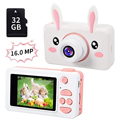 Gifts for 4 5 6 7 8 Year Old Girls,OMWay Kids Camera for Girls, Toys for 4-5 Year Old Girls,Best Birthday Gifts for Kids,16MP Digital Camera(32GB SD Card Included).: Camera & Photo