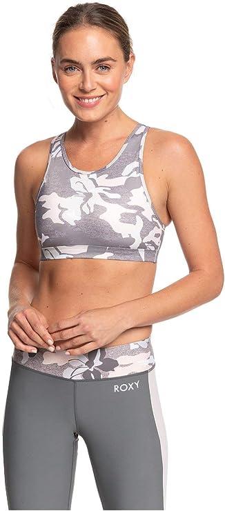 TALLA XL. Roxy Lets Dance - Sujetador Deportivo de Sujeción Media para Mujer Sujetador Deportivo De Sujeción Media Mujer