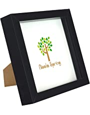 Black 6x6 Box Photo Frame - Standing & Hanging
