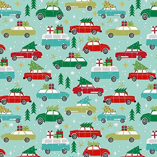 vintage christmas fabric - 3