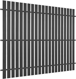 Festnight Valla Extensible,Panel de Valla de Aluminio | Panel Valla de Jardin | Privacidad de Jardín 180x180 cm Gris Antracita: Amazon.es: Hogar