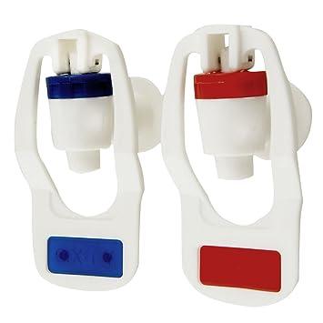 Amazon.com: Water Dispenser Replacement Push Type White Plastic ...
