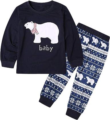 Pijamas Familiares Navideñas Pijama Navidad Familia Conjuntos ...