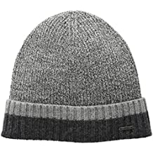 Hugo Boss Men's Frisk Striped Wool Hat