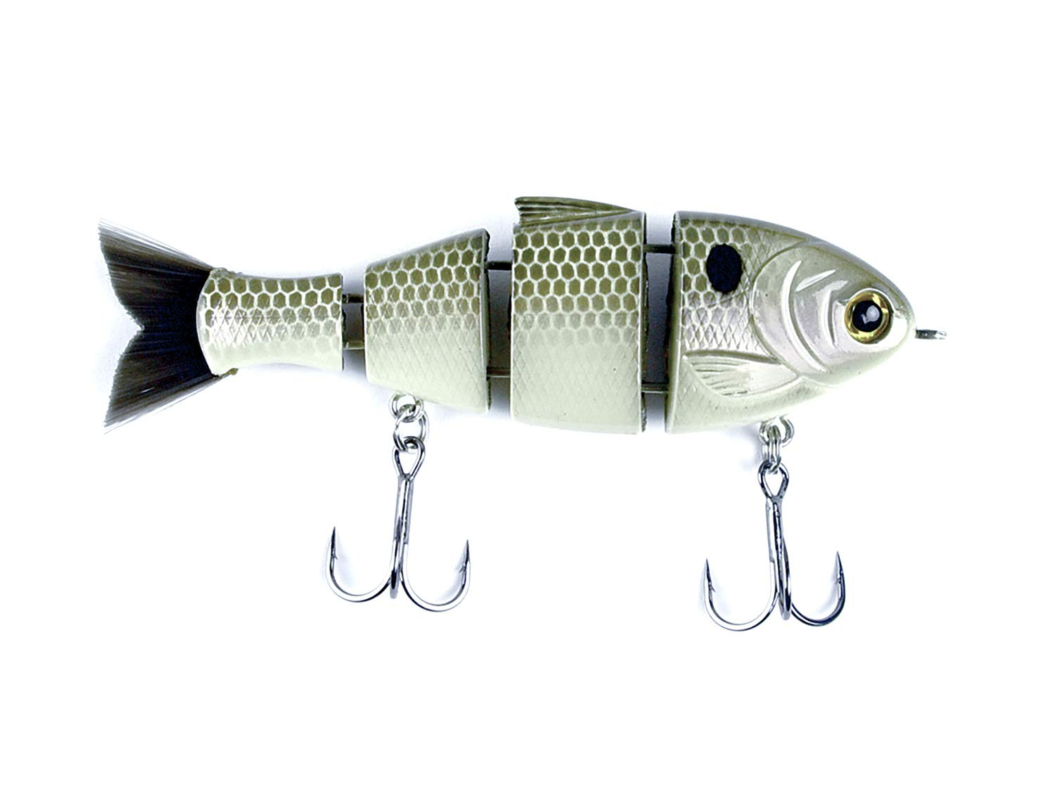 CATCH CO Mike Bucca's Baby Bull Shad Swimbait 3.75'' 1/2 oz Gizzard Shad by CATCH CO