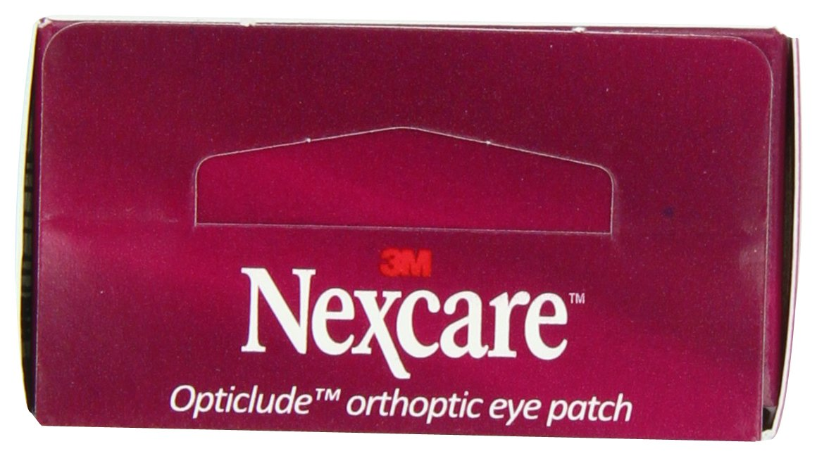 Nexcare Opticlude Orthoptic Eye Patches, Junior Size, 20-Count Boxes (Pack of 4) by Nexcare (Image #8)