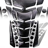 07 crf250r dual exhaust system - 3D 13-Piece Custom Fuel / Gas Tank Pad Protector Decal / Sticker Black + Chromed Black