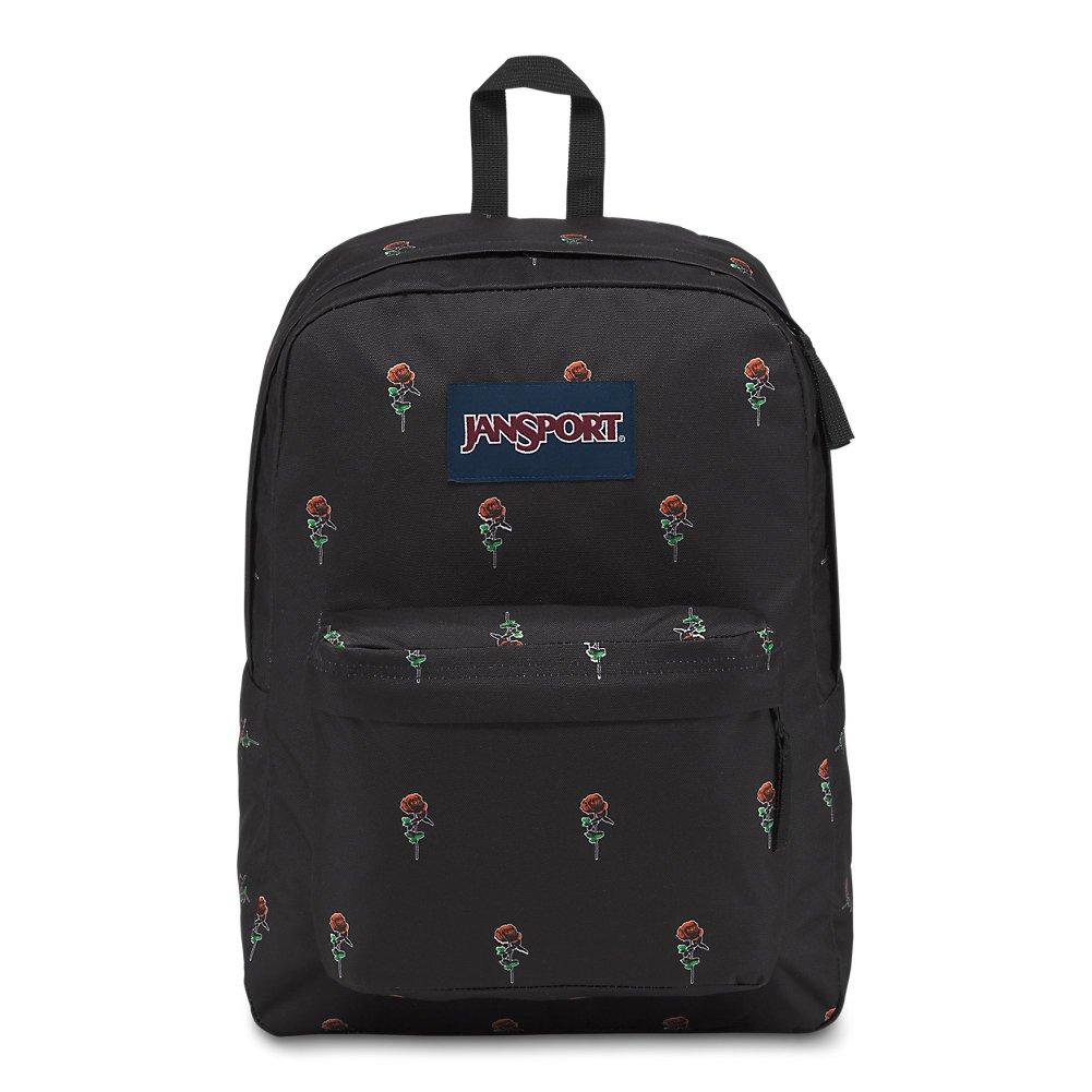 JanSport Superbreak Backpack - Rose Icon - Classic, Ultralight