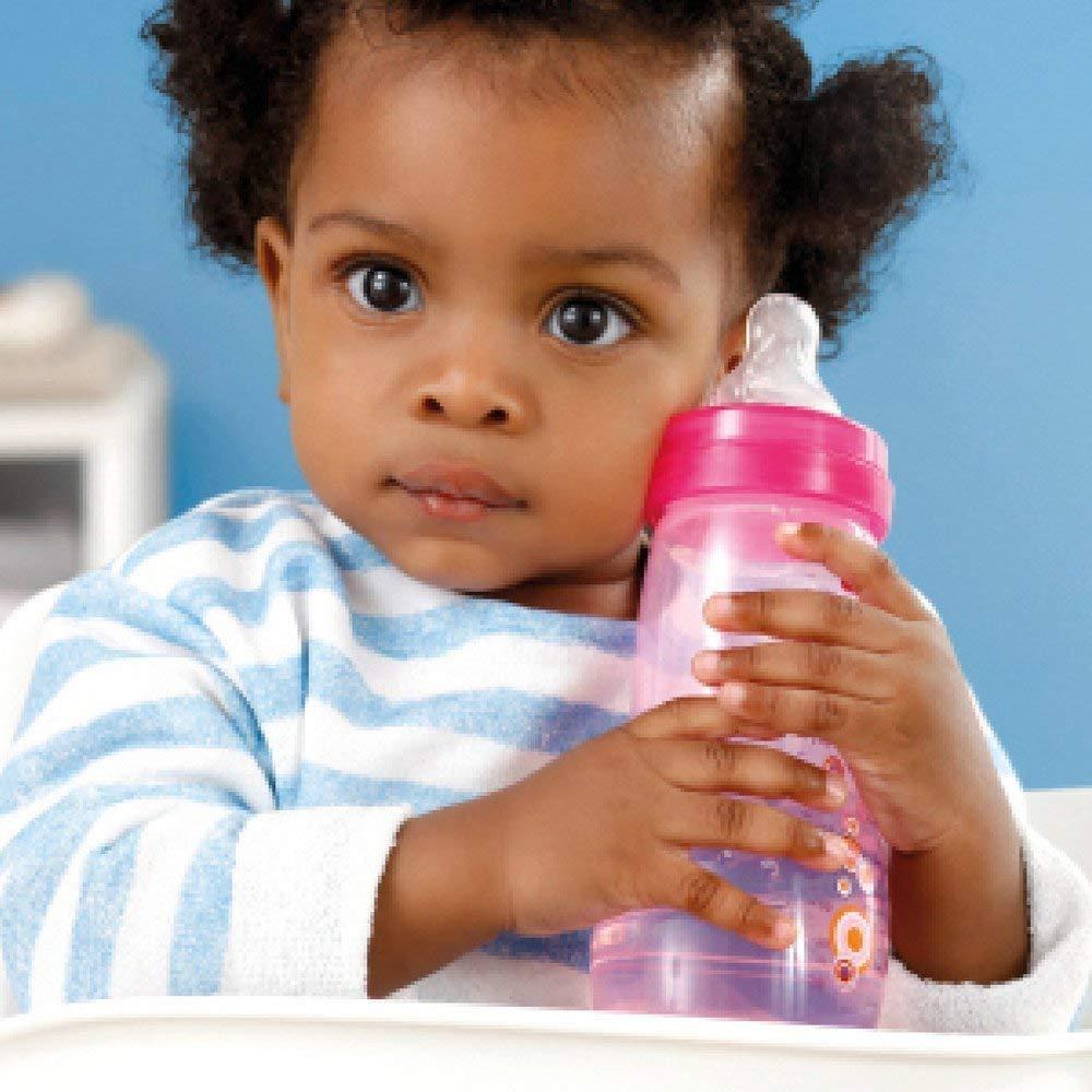 MAM bouteilles Biberons Easy Active Baby Bottle Set////////1 x Baby Bottle 330 ml avec t/étine Taille 2////1 x MAM Trainer Uni avec aspirateur /& Soft /à bec