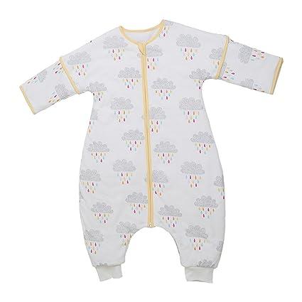 i-baby dormir bolsa sacos de dormir con pies muselina algodón niños pijamas saco Outlast