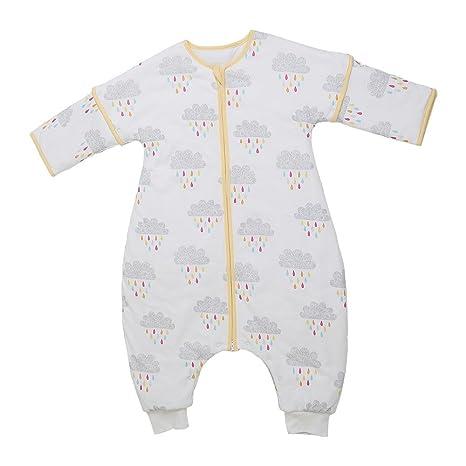 i-baby dormir bolsa sacos de dormir con pies muselina algodón niños pijamas saco Outlast Temperatura ...