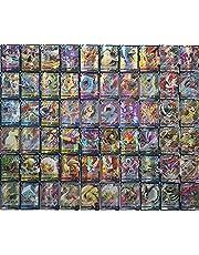 Pokemon GX Pokémon-verzamelkaartenset met 50 GX 20 Mega 10 Trainer 20 Pokémon-kaarten energie