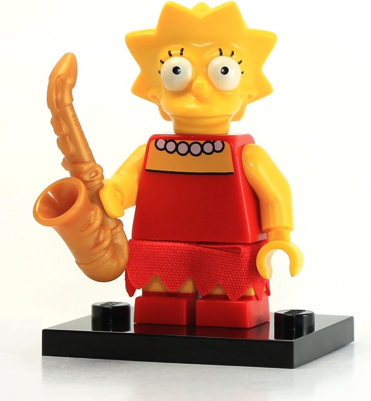 Collectible Minifigure // The Simpsons LEGO 71005 Lisa Simpson Mini Figure