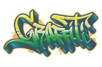 Amazon.com Poster Foundry Graffiti Word for t,Shirt