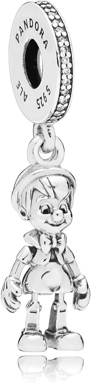 PANDORA Disney Pinocchio Dangle Sterling Silver Charm - 797489CZ