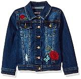 Limited Too Little Girls' Jean Jacket, Dark Blue, 7/8