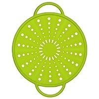 Emsa 514556 - Coperchio Smart Kitchen in silicone/acciaio inossidabile