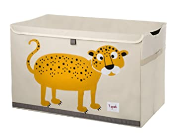 Genial 3 Sprouts Toy Chest, Leopard