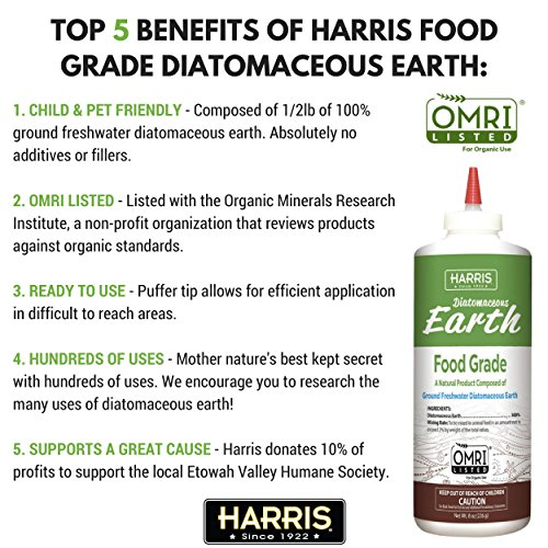 Harris Food Grade Diatomaceous Earth Reviews