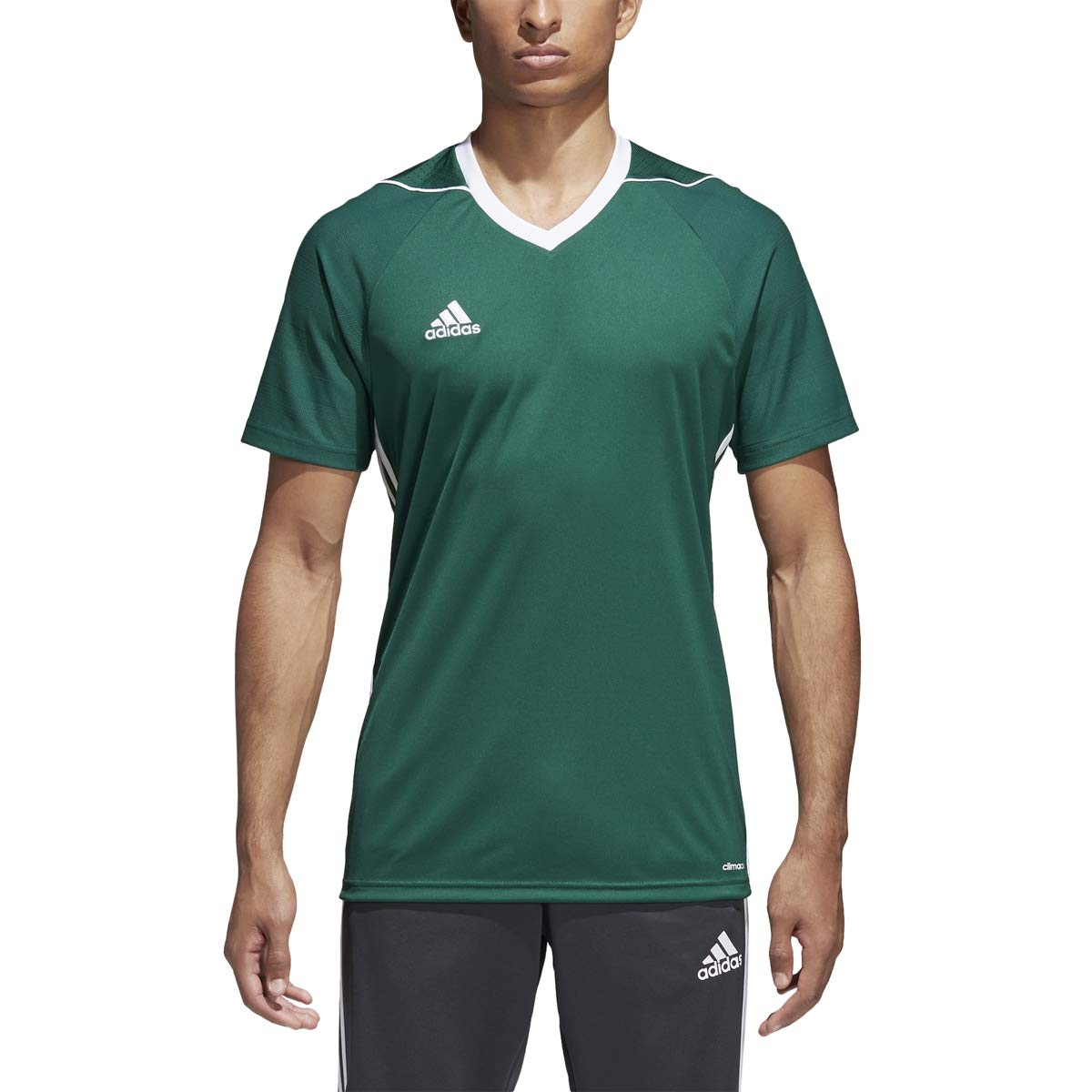 adidas Tiro 17 Jersey - Men's Soccer 2XL Collegiate Green/White by adidas