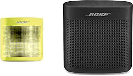 Amazon Com Bose Soundlink Color Bluetooth Speaker Ii Yellow Citrus Soundlink Color Bluetooth Speaker Ii Soft Black Home Audio Theater