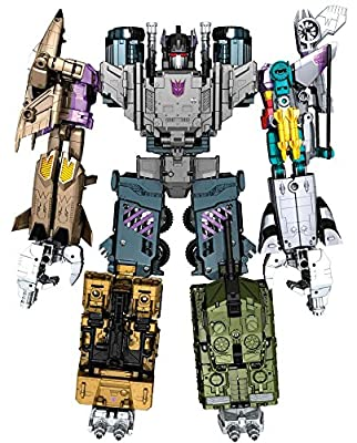 Transformers Generations Combiner Wars Bruticus Action Figure Set [Onslaught, Vortex, Brawl, Swindle and Blast Off]