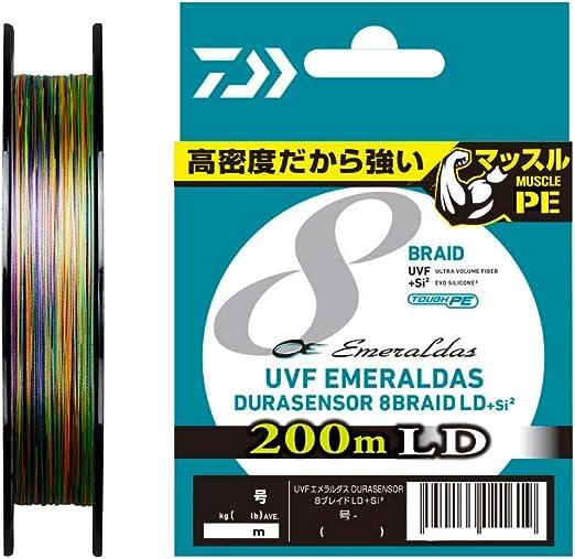 ダイワ UVFエメラルダスデュラセンサー×8LD+Si2 0.8号 200m 5カラーの画像