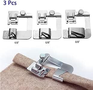 Prensatelas para máquina de coser eléctrica Hemmer, uso doméstico ...
