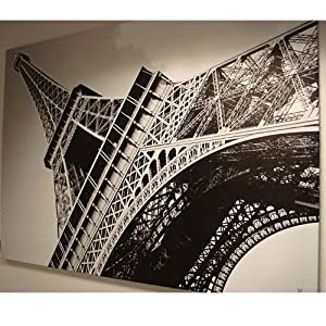 Amazon Com New Ikea Eiffel Tower Picture With Frame