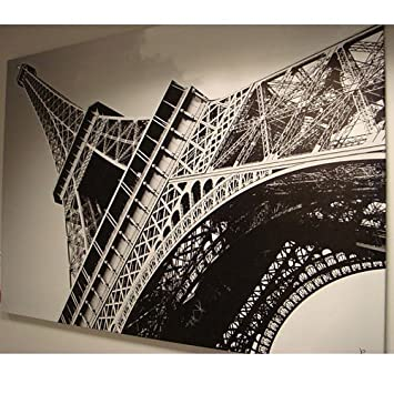 new ikea eiffel tower picture with framecanvas large 55 x 78 inches