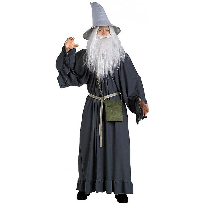 Amazon.com: Deluxe Adulto Gris Gandalf – Disfraz adultos Std ...