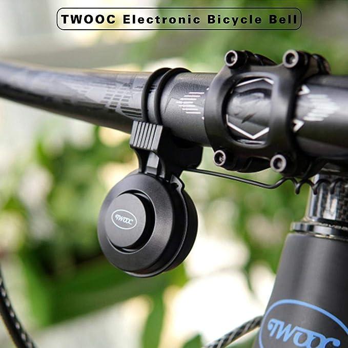 Letway TWOOC T-002P - Cargador de Bicicleta para Timbre de Bicicleta (conexión USB, versión monopolónica), Color Negro: Amazon.es: Deportes y aire libre