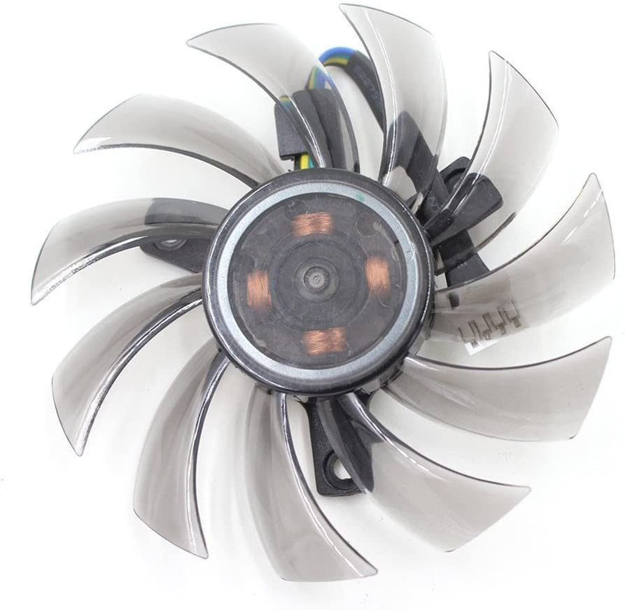 T128010SU 75mm 4Pin 0.35A 40mm For Gigabyte GTX760 GTX770 GTX780 GTX670 Cooling Fan 3pcs//lot
