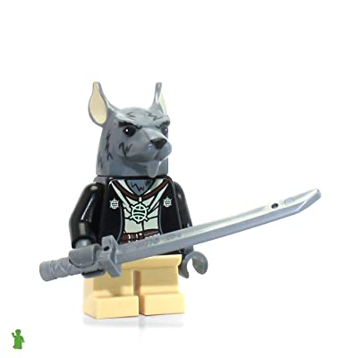 LEGO 2014 Splinter Minifig Minifigure Figure TMNT Teenage Mutant Ninja Turtles 79117 Lair Invasion: Toys & Games [5Bkhe0306045]