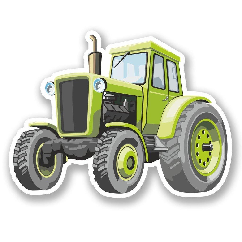 2 X Farm Traktor Vinyl Aufkleber Aufkleber Laptop Reise